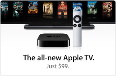 The all-new Apple TV. Just $99.